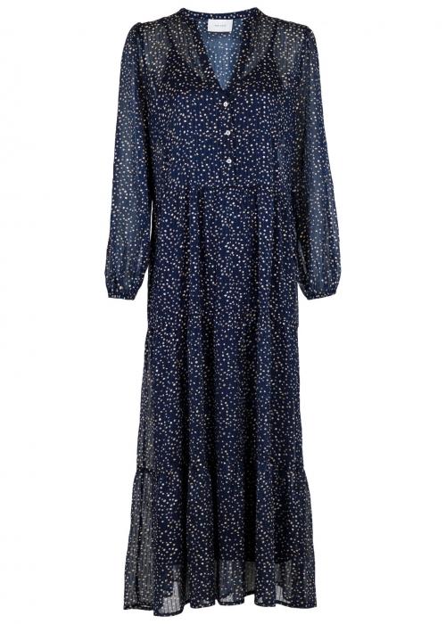 Nobis sparkle dress NAVY
