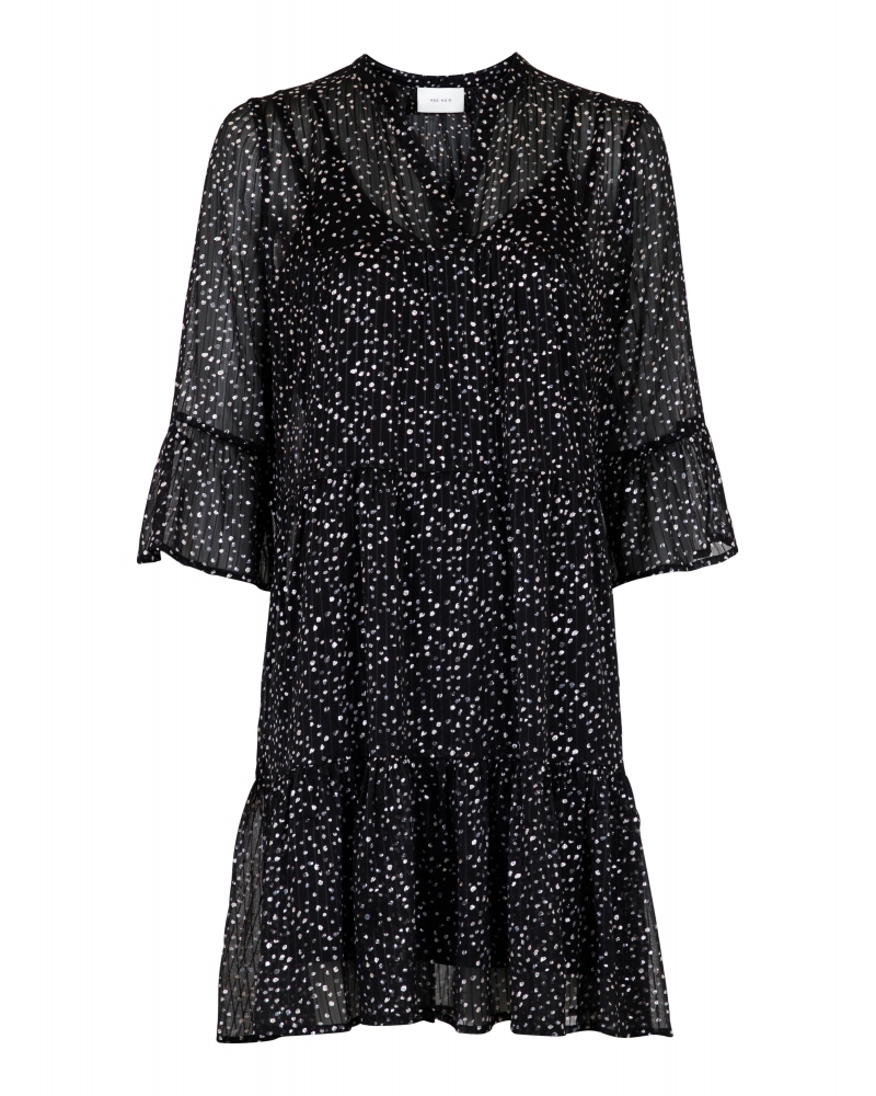 Gunvor sparkle dress BLACK