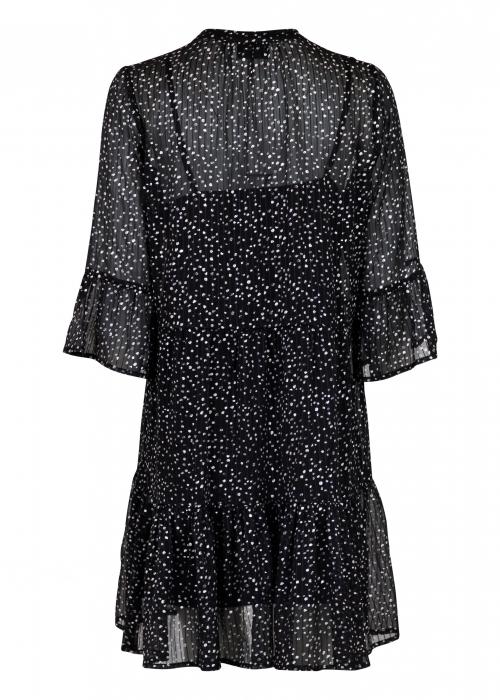 Gunvor sparkle dress BLACK