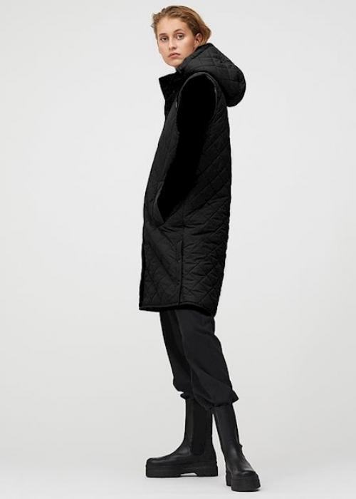 Jace teddy vest BLACK