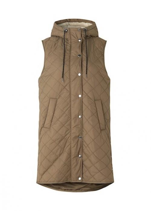 Jace teddy vest GREIGE