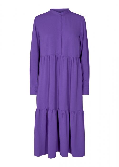 Maggie LS dress PURPLE