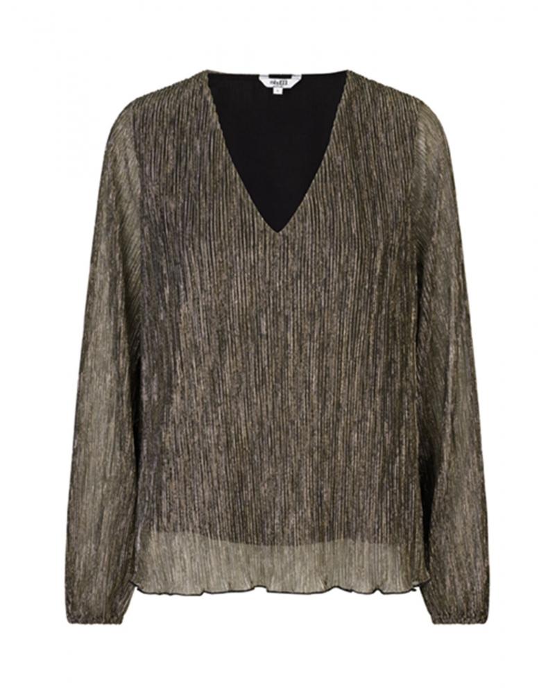 Linden blouse BLACK GLITTER