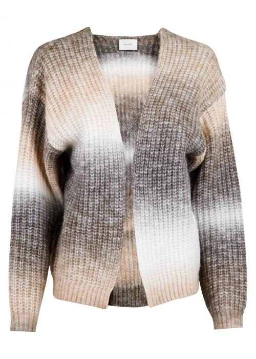 Nadia Ombre knit cardigan BEIGE