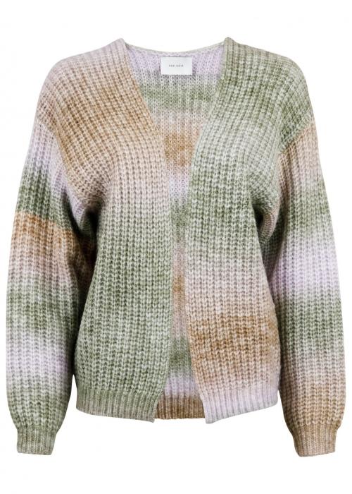 Nadia Ombre knit cardigan GREEN