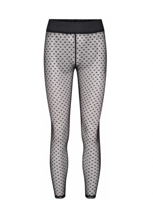 Nilla heart leggings BLACK