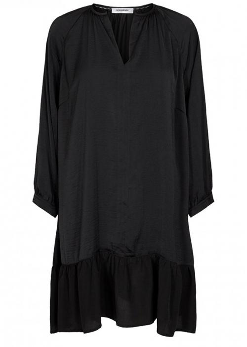 Elise mix dress BLACK