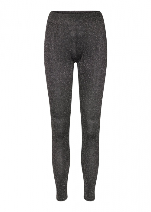 Nuno leggings BLACK/SILVER