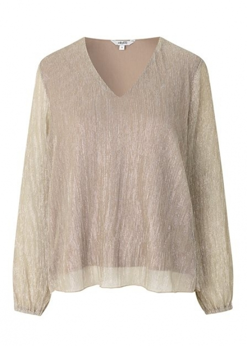 Linden blouse GOLD GLITTER