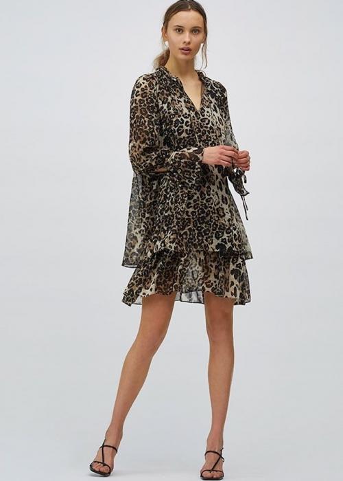 Melinna dress LEOPARD