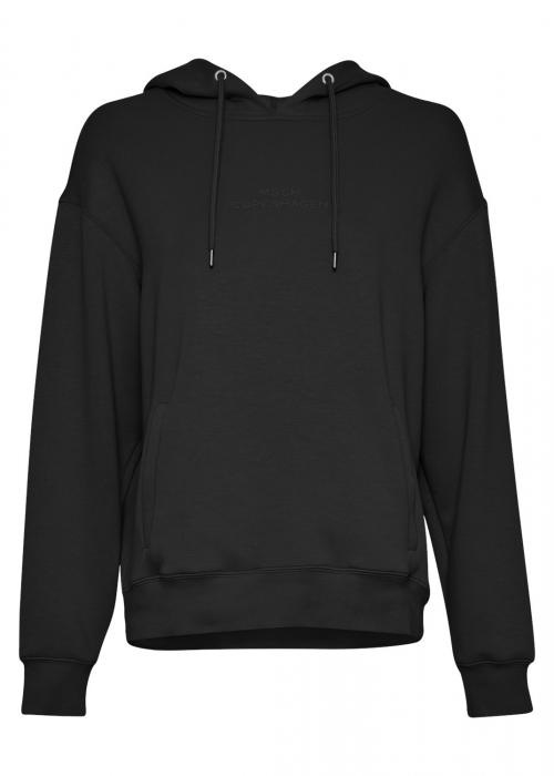Ima logo hood sweatshirt BLACK