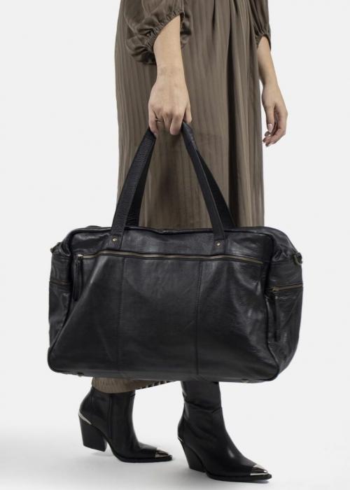 Signe weekend bag  BLACK