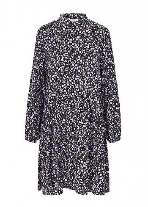 Elula dress ANTINEA PRINT (ROSA)