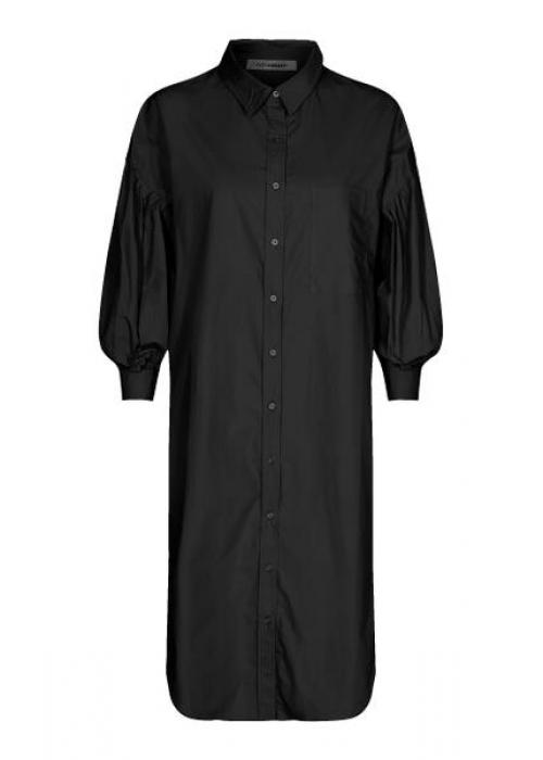 Yates shirt dress BLACK