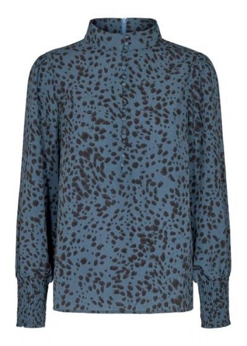 Madonna spot shirt BLUE