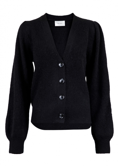 Gimma knit cardigan BLACK