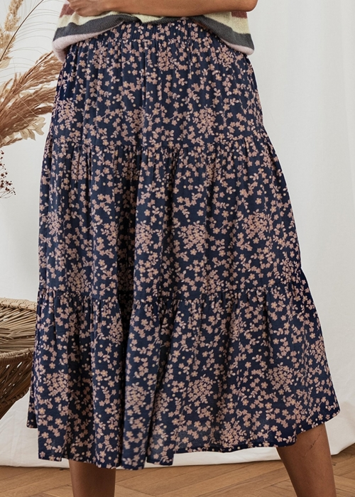 Morning skirt FLOWER PRINT 74