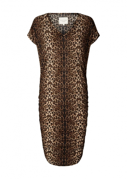 Indiana dress LEOPARD PRINT