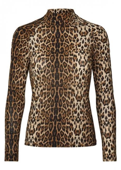 Ellen blouse LEOPARD PRINT