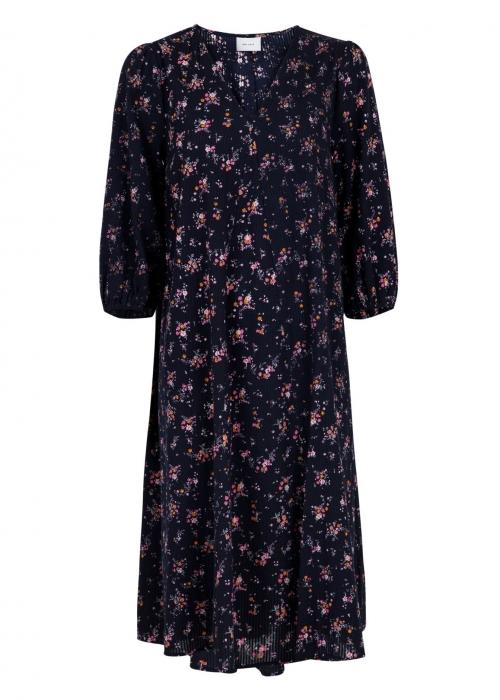 Tasia sprinkle flower dress NAVY