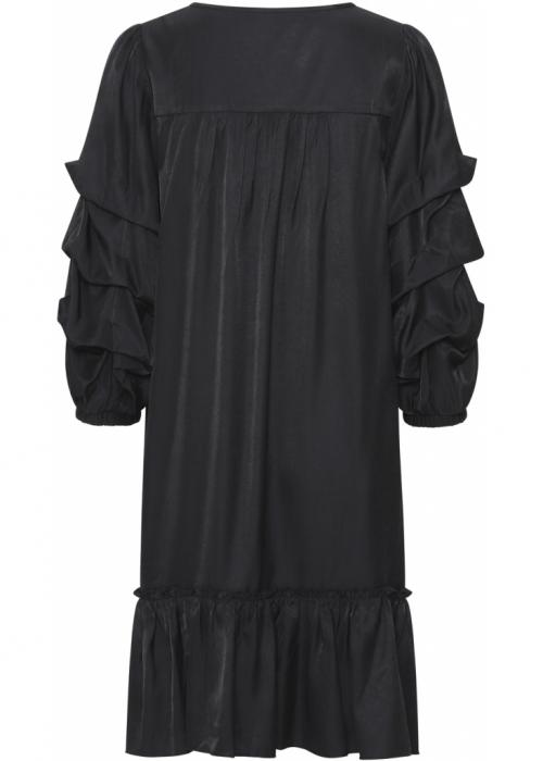 Saga dress BLACK