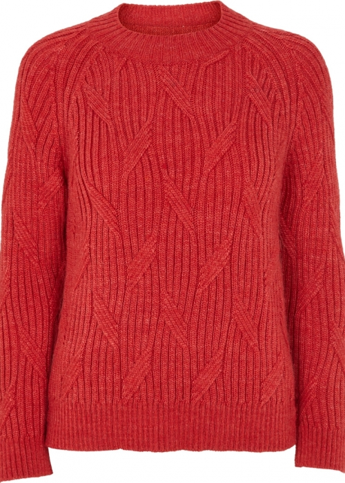 Linea sweater CRANBERRY RED