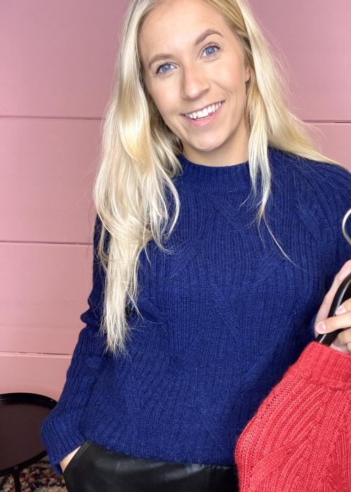 Linea sweater DARK INDIGO