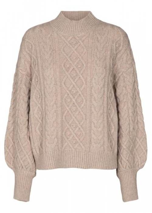Dany cable knit BONE