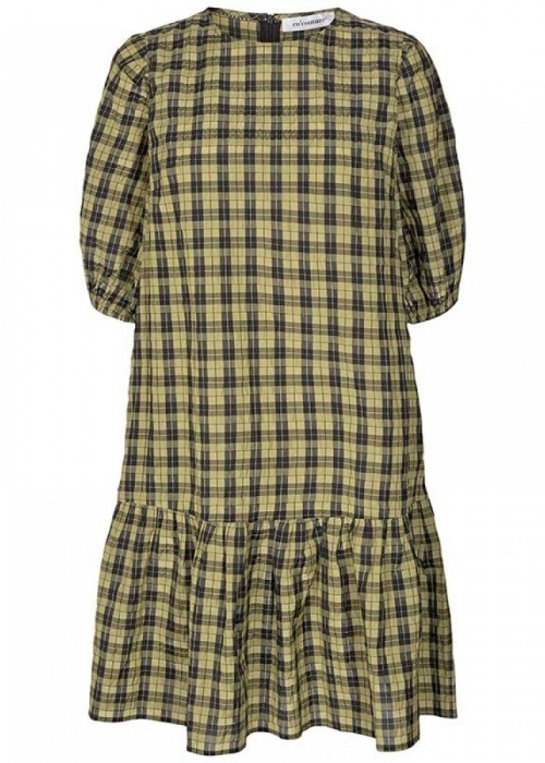 New Trever check dress ARMY