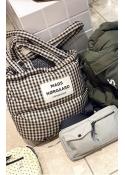 Check Club Pillow bag