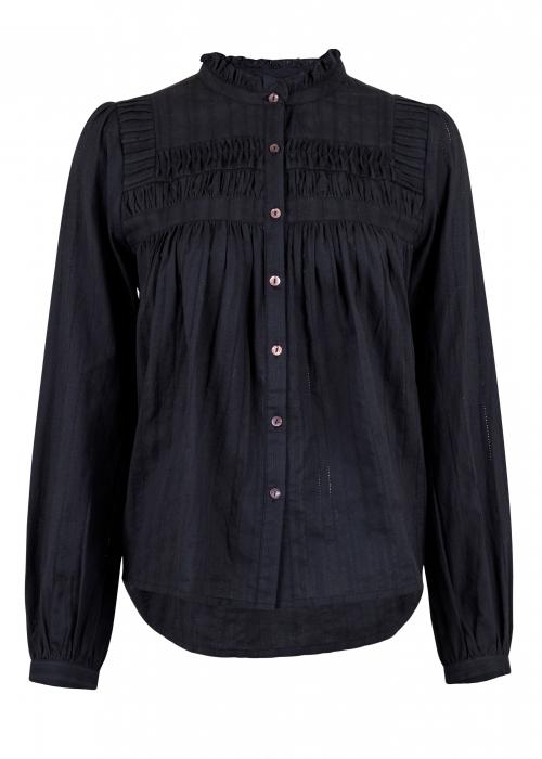 Anetta blouse BLACK