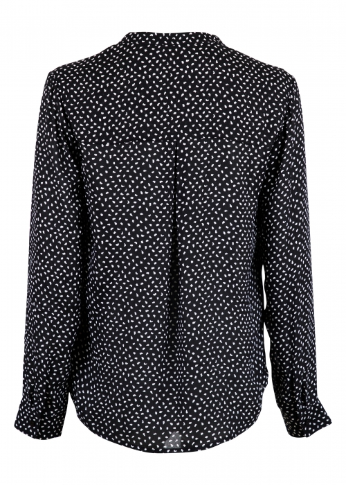 Pandora dot blouse BLACK