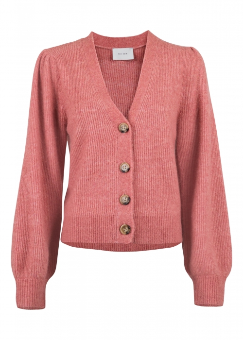 Gimma knit cardigan ROSE MELANGE