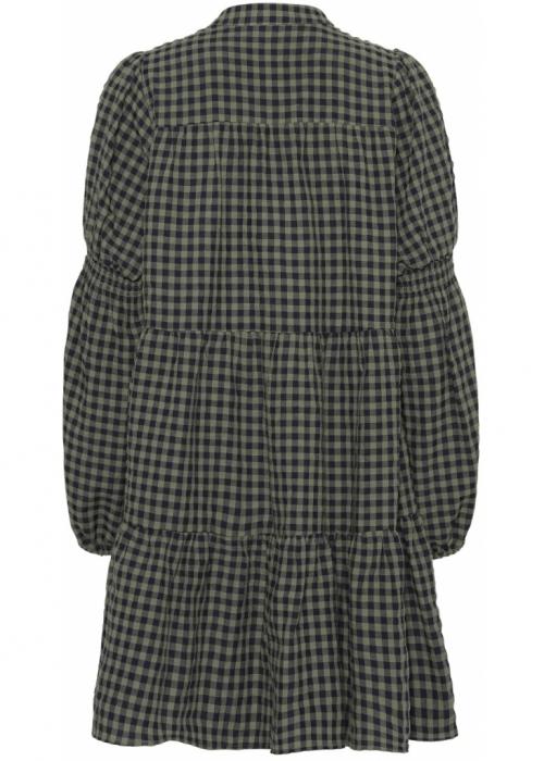 Sanna small check dress ARMY
