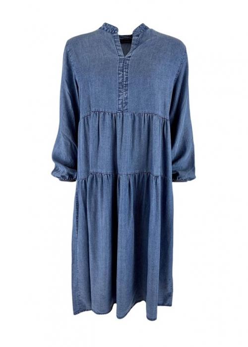 Frigg denim dress DENIM BLUE