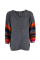 Hera oversize brushed knit sweat GREY