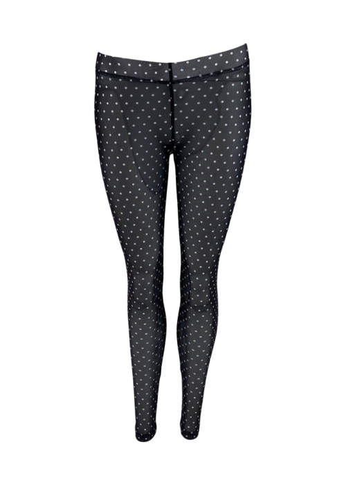 Annie mesh Leggings BLACK DOT