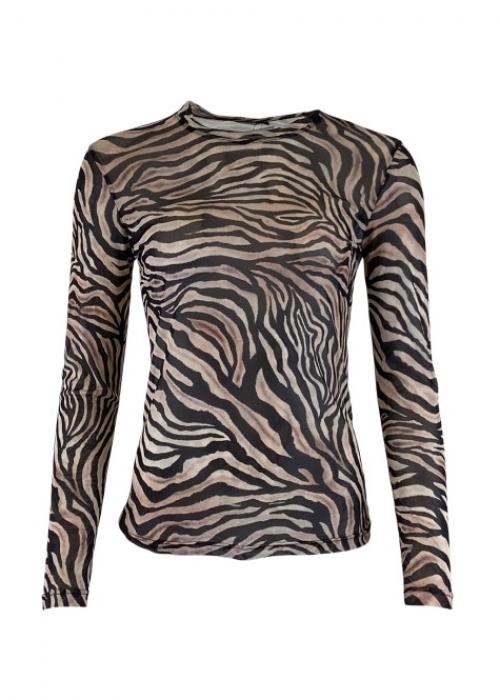 Annie mesh blouse ZEBRA