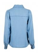 Amber chambray shirt DENIM BLUE