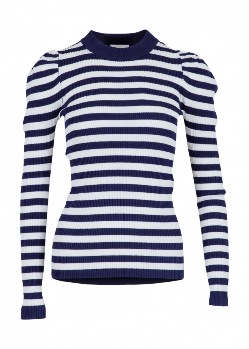 Vince stripe blouse NAVY