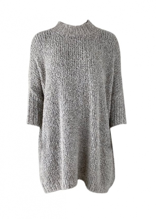 Teddy oversized jumper GREY