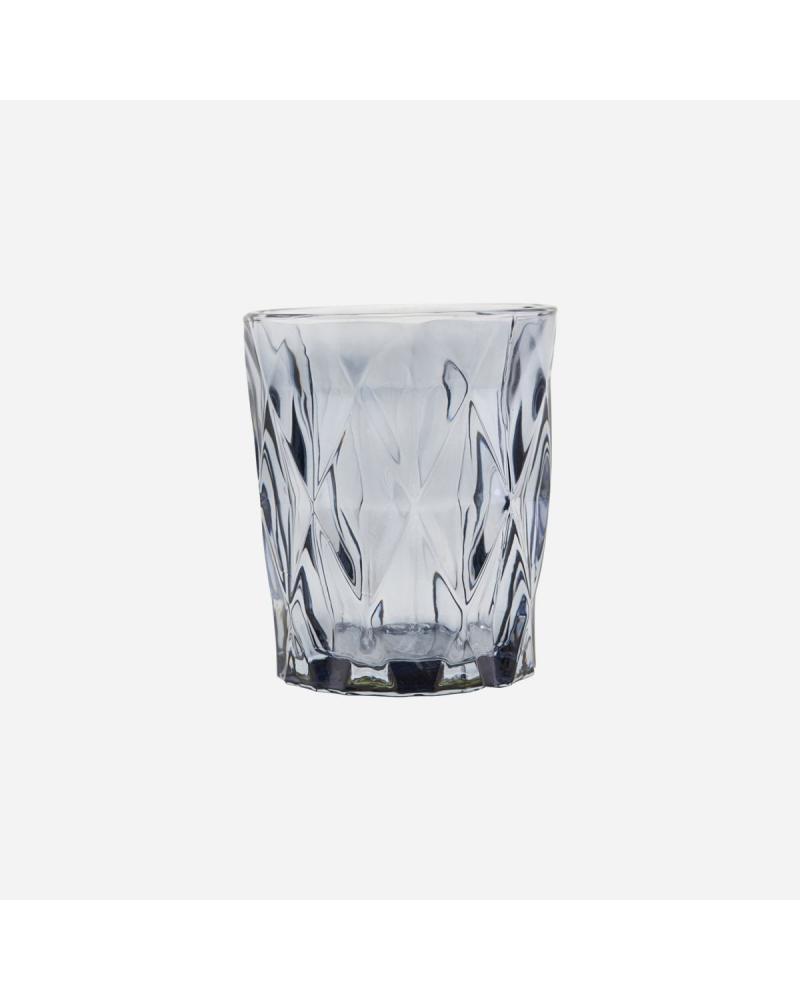 Glas til lys, facet GREY