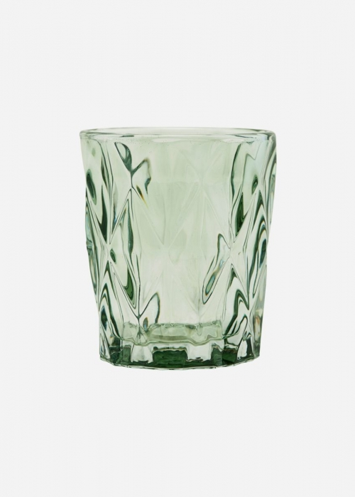 Glas til lys, facet GREEN
