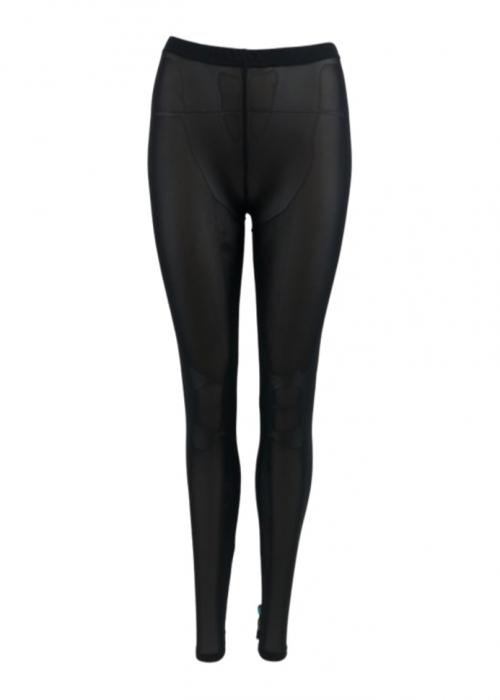 Olava mesh leggings BLACK