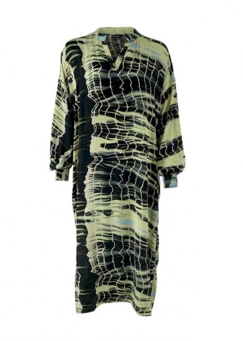 PIXI batik kaftan dress OLIVE BATIK