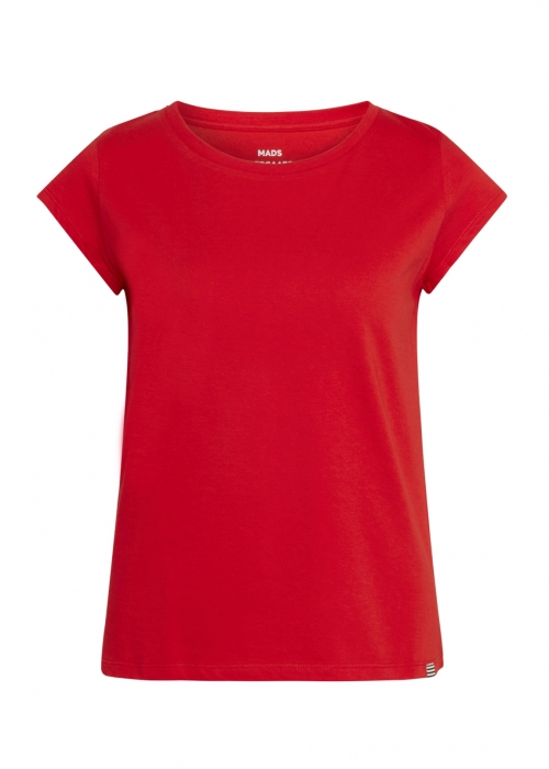 Organic favorite teasy t-shirt RED