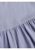 Reck Seersucker Decimina dress FOREVER BLUE