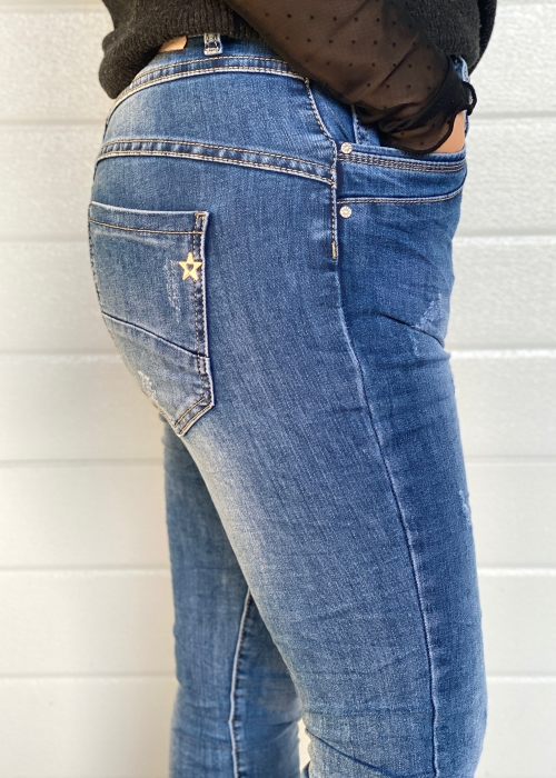 Soft dark blue jeans 2648