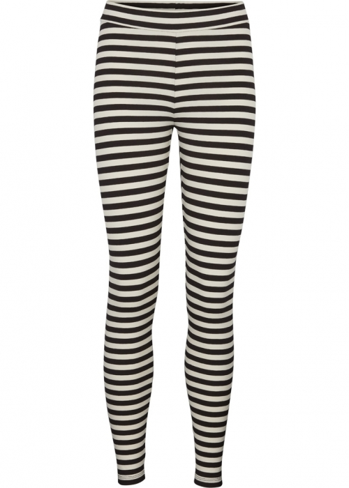 Elba leggings BLACK / OFF WHITE