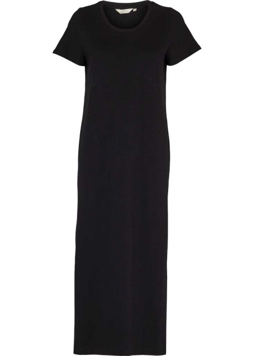 Rebecca dress organic BLACK Preorder Levering Marts